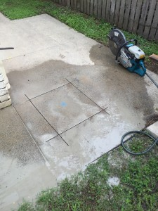 Burst Water Pipe Under Concrete Slab