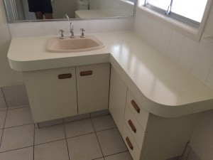 Resurfacing Bathroom Vanity