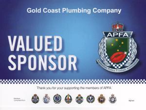 Gold Coast Plumbing Company Sponsorship