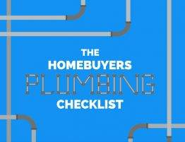 Home Buyers Plumbing Checklist