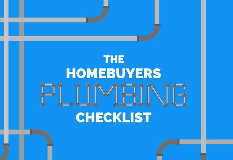 Home Buyers Plumbing Checklist