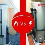 gas-vs electric hot water banner