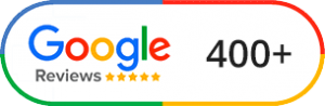400+ Google Reviews